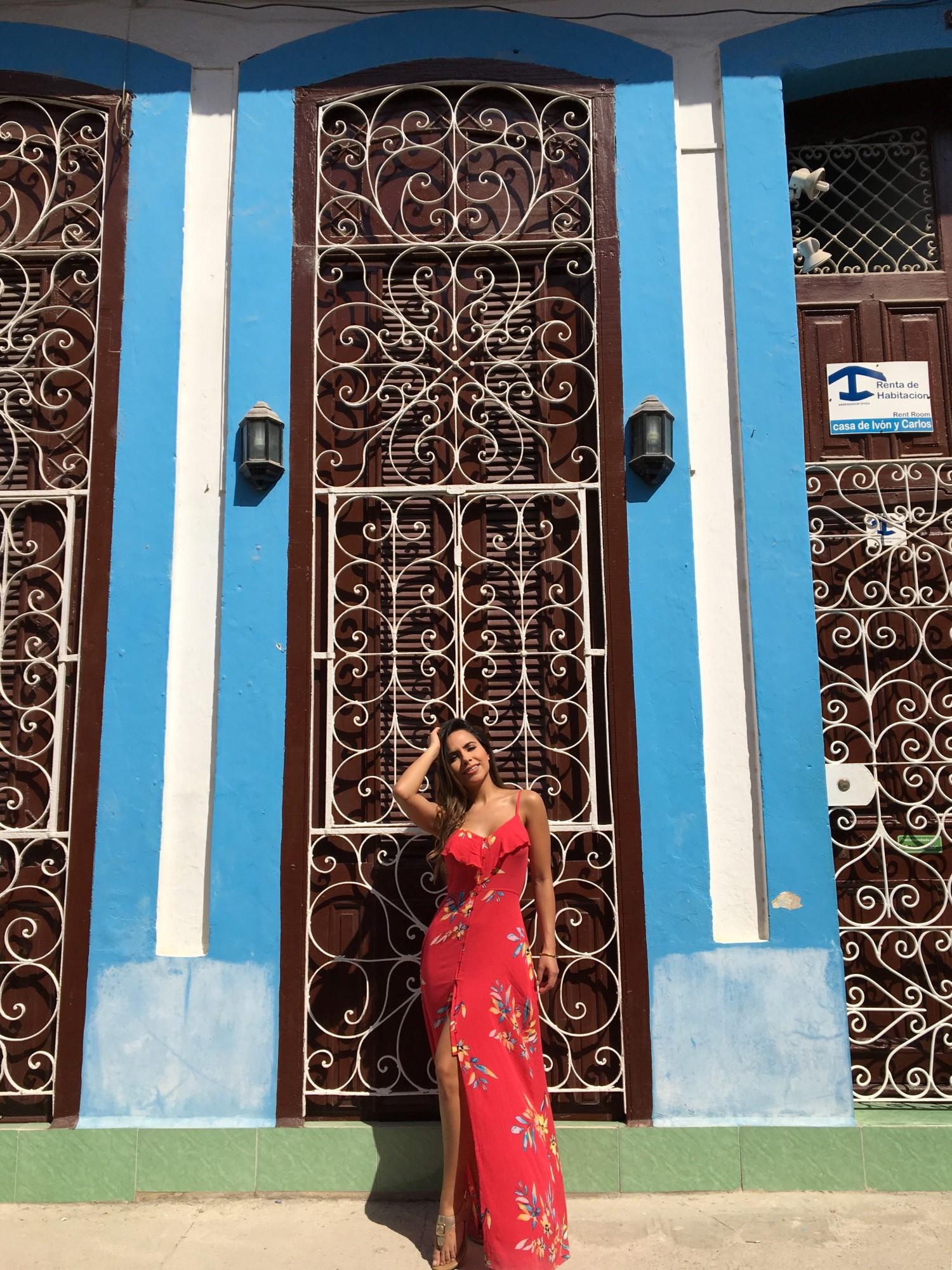 Lisa Morales, Traveling to Havana Cuba