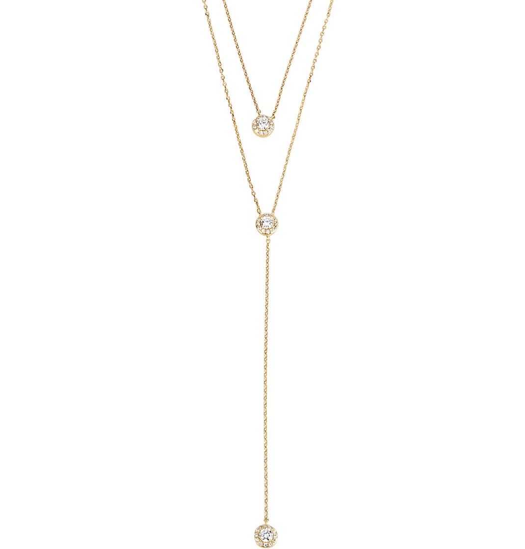 Gold Double Y Necklace Welcome To Lisa Morales