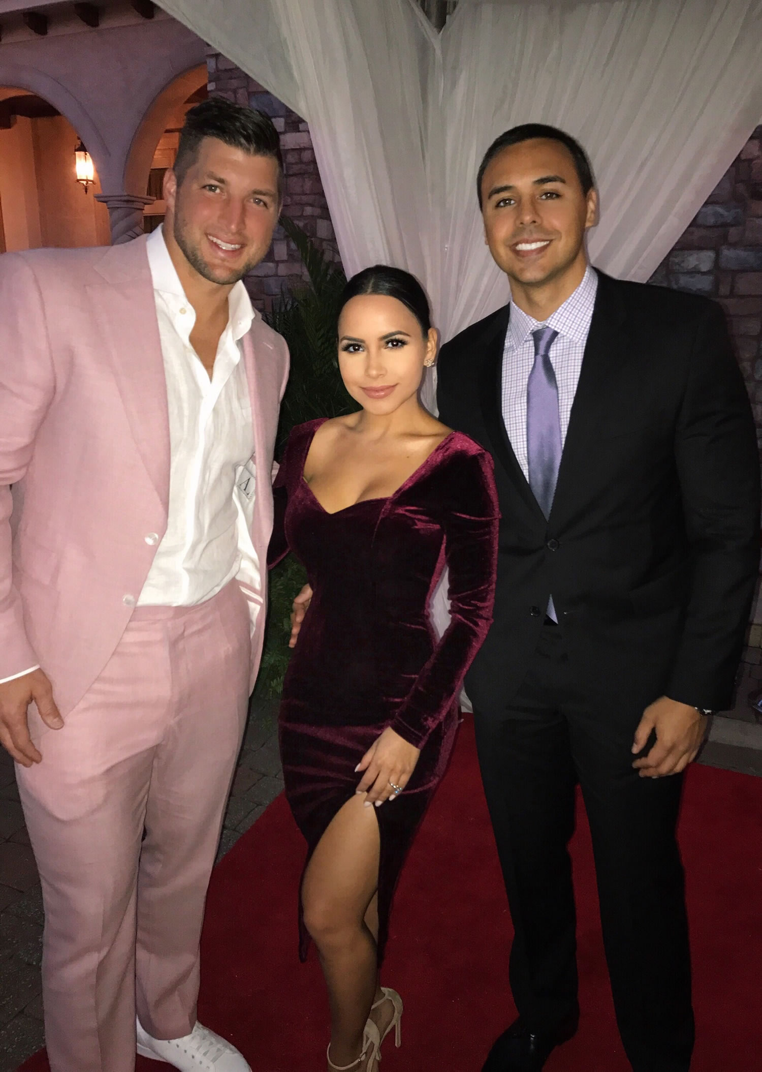 lisa-morales-tim-tebow-gala